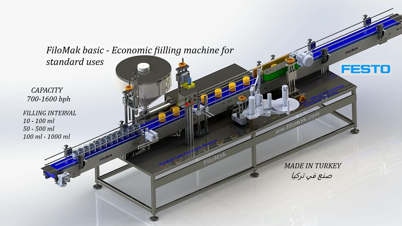 Meltar  basic - Economic fiilling  machine for standard uses
